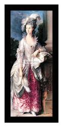 The Honorable Mrs Graham - Framed Art Print
