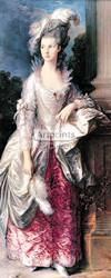 The Honorable Mrs Graham by Thomas Gainsborough - Art Print