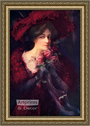 Talia - Framed Art Print