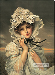 Emily by Francois Martin-Kavel - Stretched Canvas Art Print