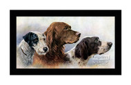 Kennel Companions - Framed Art Print