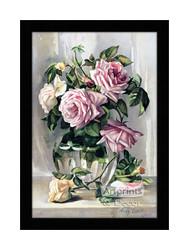 La France Roses - Framed Art Print