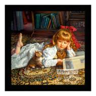 Kitten Tales - Framed Art Print