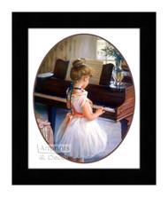 Piano Ballet - Framed Art Print