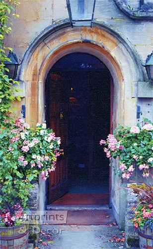 Arched Entrance by Sandra Kuck - Framed Art Print