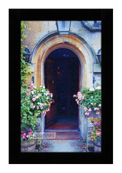 Arched Entrance - Framed Art Print