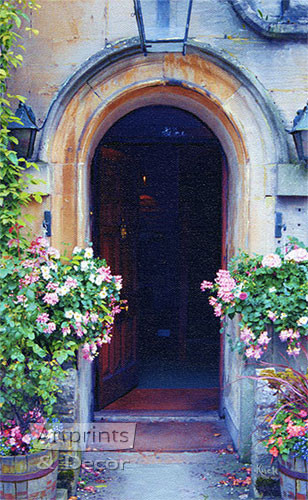 Arched Entrance by Sandra Kuck - Art Print