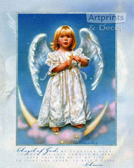 My Guardian Angel by Sandra Kuck - Art Print