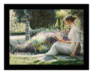 Eleane Garden - Framed Art Print