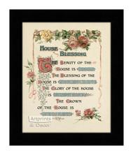 House Blessing - Framed Art Print