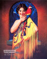 Alluring Mystery by Gene Pressler  - Art Print