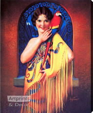 Alluring Mystery by Gene Pressler  - Stretched Canvas Art Print