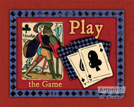 Play The Game - Art Print