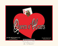 Queen o' Hearts - Art Print