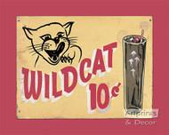 Wild Cat - Framed Art Print