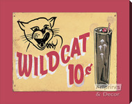 Wild Cat - Stretched Canvas Art Print