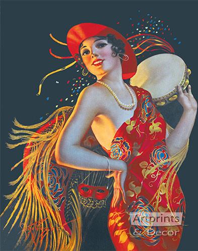 Carmenita by Gene Pressler - Framed Art Print