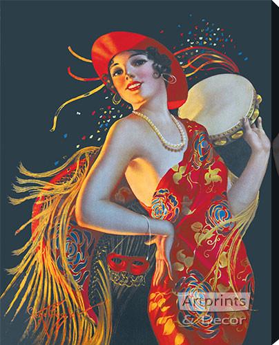 Carmenita by Gene Pressler - Stretched Canvas Art Print