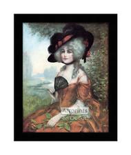 Lucretia - Framed Art Print