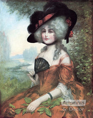 Lucretia by J. Knowles Hare JR  - Art Print
