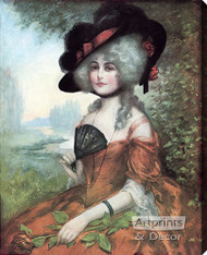 Lucretia by J. Knowles Hare JR  - Stretched Canvas Art Print