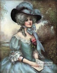 Ophelia by J. Knowles Hare JR - Art Print