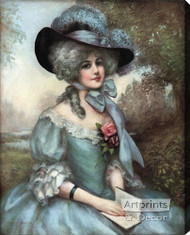 Ophelia by J. Knowles Hare JR - Stretched Canvas Art Print