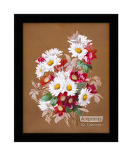 A Bouquet of Daisies - Framed Art Print