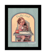 Daddy's Girl - Framed Art Print