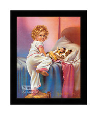 Bedtime - Framed Art Print