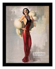 Lady Fair - Framed Art Print