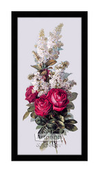 Roses and Lilacs - Framed Art Print