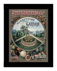 Everything for the Garden 1886 - Framed Art Print