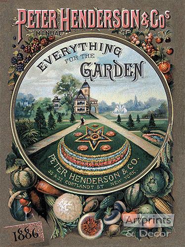Everything for the Garden 1886 - Art Print