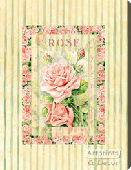 Rose - Stretched Canvas Print