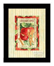 Cinnamon Apple - Framed Art Print
