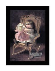 Hello Baby - Framed Art Print