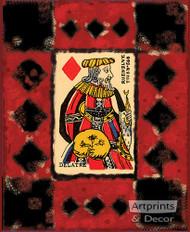 King of Diamonds - Art Print
