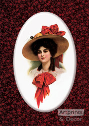 Claudia by J. Knowles Hares -  Art Print