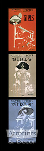 Girls, Girls, Girls - Art Print