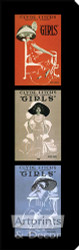 Girls, Girls, Girls - Stretched Canvas Print