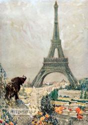 The Eiffel Tower - Art Print