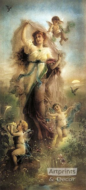 Spring Fantasy Art Print