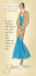 The Seasons Silhouette - Art Print