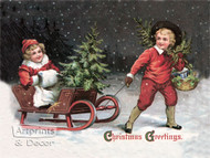 Christmas Greetings - Art Print