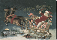 A Merry Christmas - Stretched Canvas Art Print