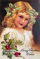 Loving Christmas Wishes - Art Print