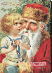 A Merry Christmas II - Stretched Canvas Art Print