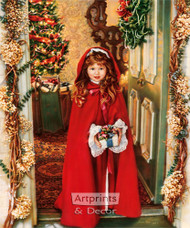 Merry Christmas by Sandra Kuck - Art Print