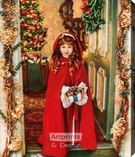 Merry Christmas by Sandra Kuck - Stretched Canvas Art Print